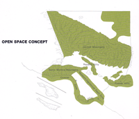 1970 Open Space Concept (Schematic or Sketch Map)