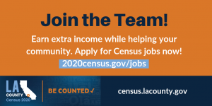 Join the Team! Apply at https://2020census.gov/jobs