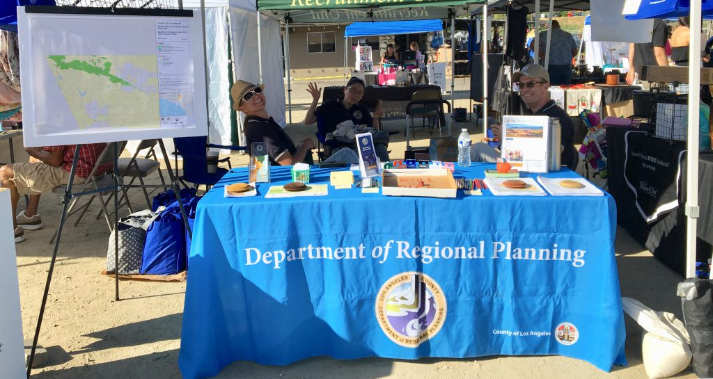 Photo of Regional Planning Booth